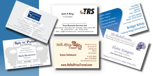 Business Cards Designed and Printed